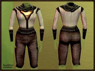 Suelita's clothes: Render by SteMega
