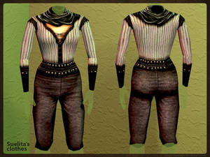 Suelita's clothes: Render