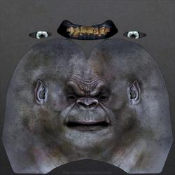 Uruk-hai heads: Sample head texture.