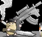 Guinea pig commando
