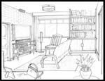 Detective Game: Apartment interior