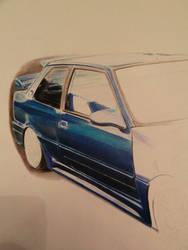 Peugeot GTI 309 WIP 4 by VelvetVamp