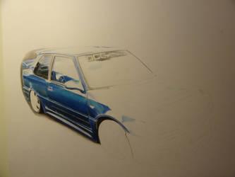 Peugeot GTI 309 WIP 5 by VelvetVamp