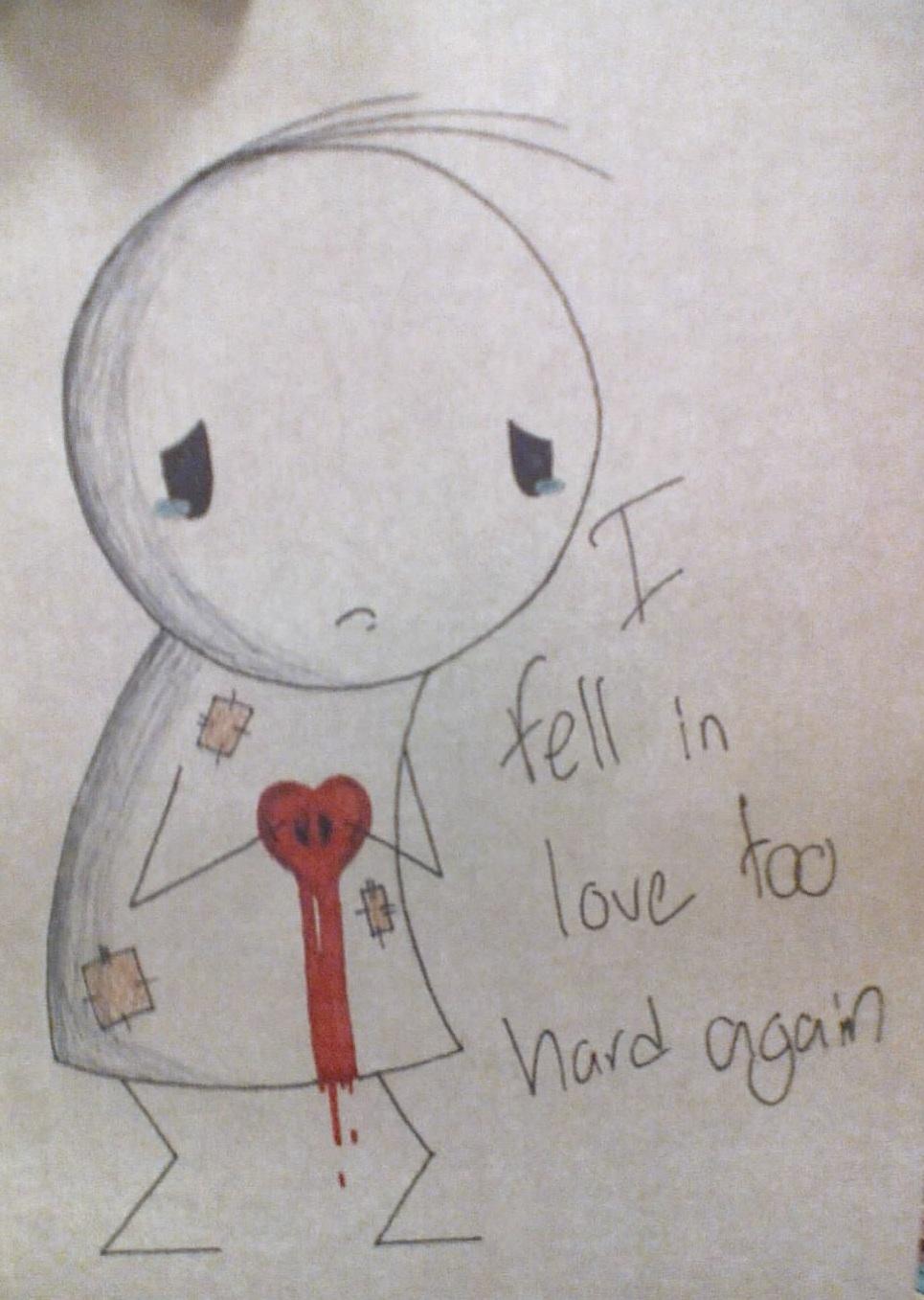 how to feel love again