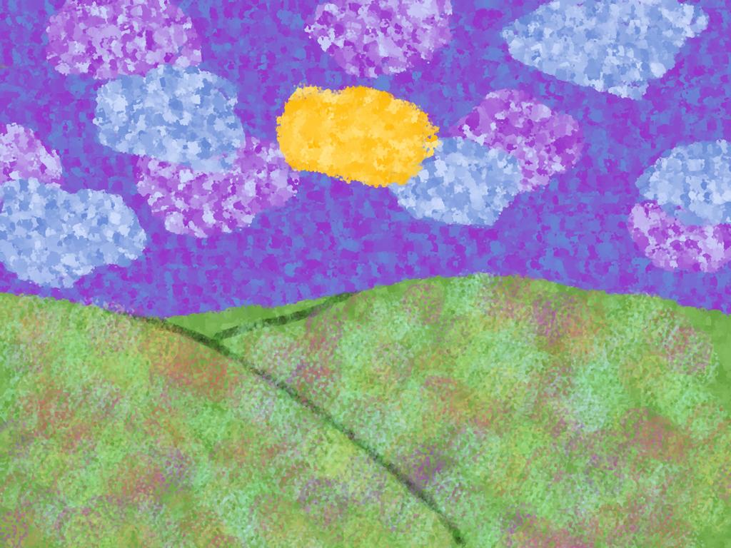 yellow Cloud by crow5derlock