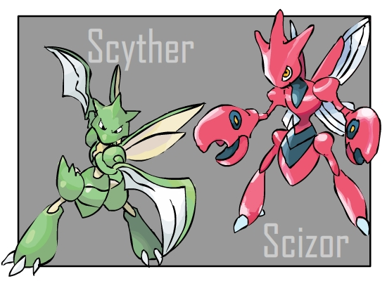Pokemon Scyther Evolution Chart