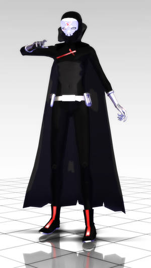 MMD - Red X - Teen Titans