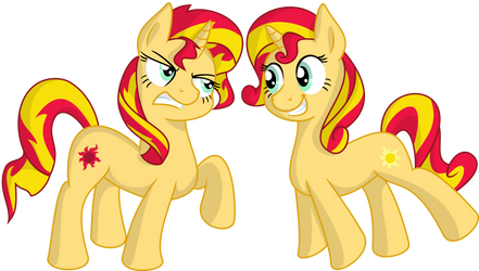 Sunset and Shimmer