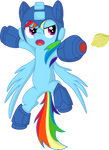 Rainbow Dash-Mega Man