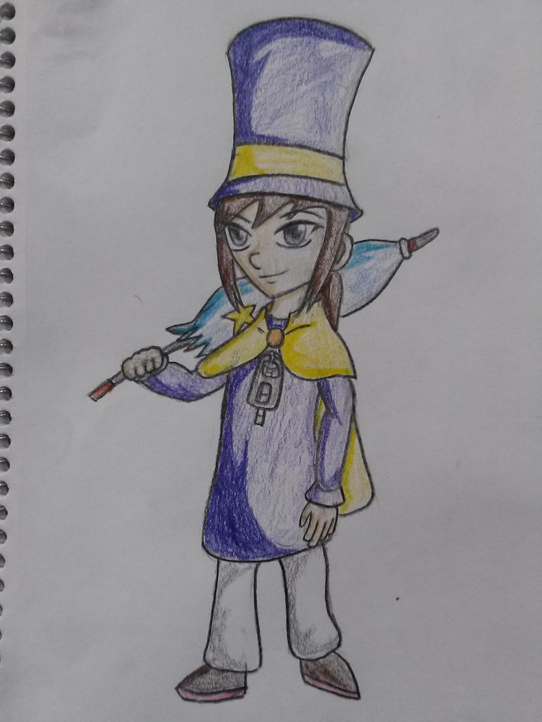 Hat Kid - A Hat in Time by UltimateIfrit