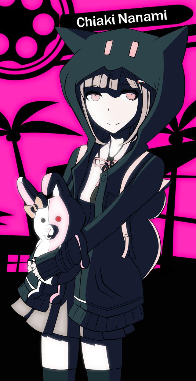 Chiaki Nanami by GreedyDeviant