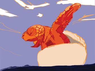 Turtle by t-essart