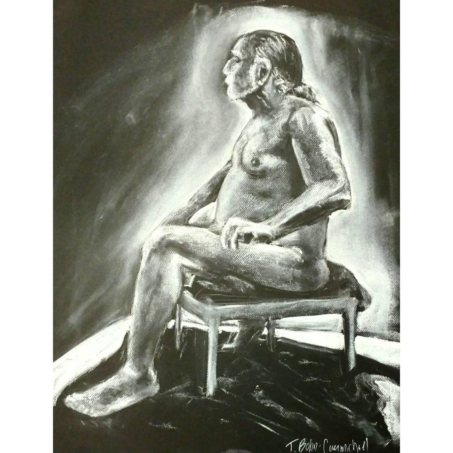 Figure Drawing 1 by t-essart