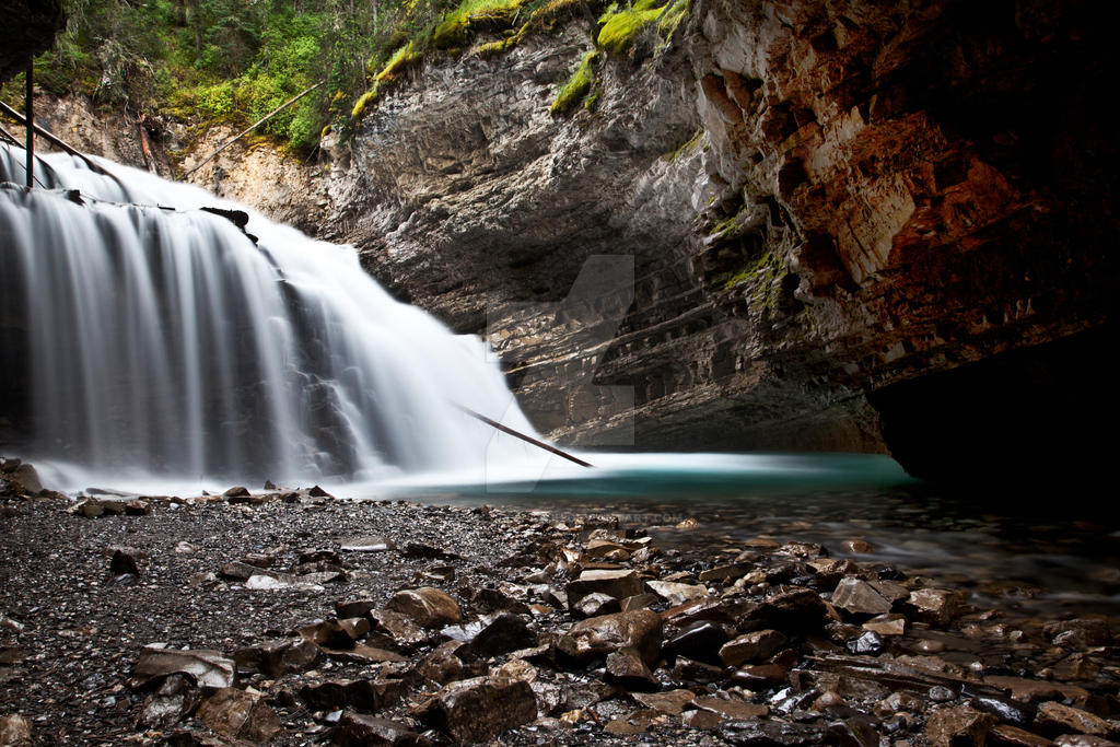 Johnston Canyon by Lash-Upon-Lash