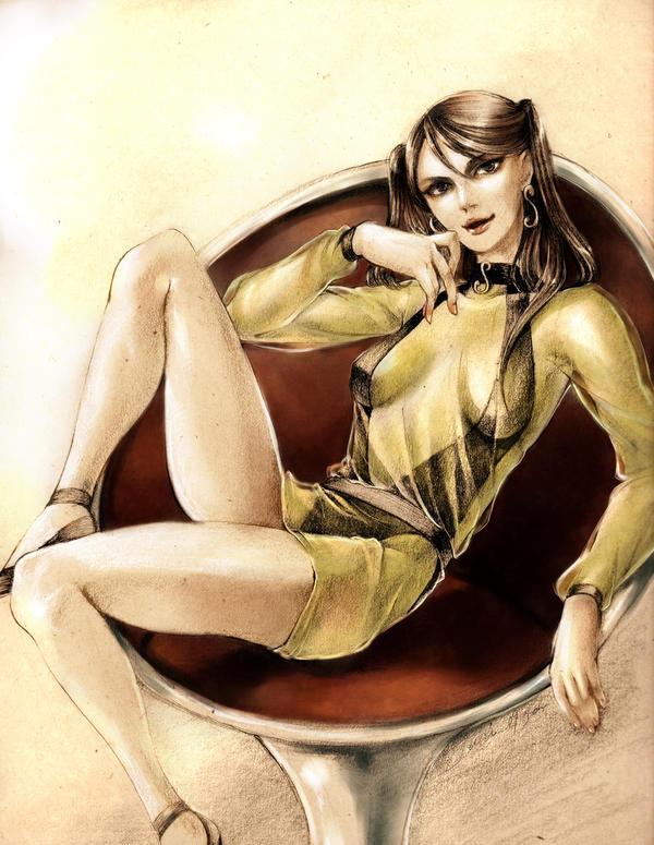 Silk Spectre II by jurithedreamer
