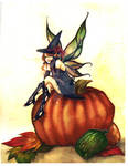 Halloween fairy -color-