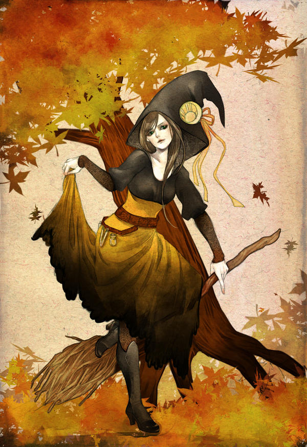 halloween witch by jurithedreamer on DeviantArt