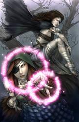 Huginn and Muninn by jurithedreamer