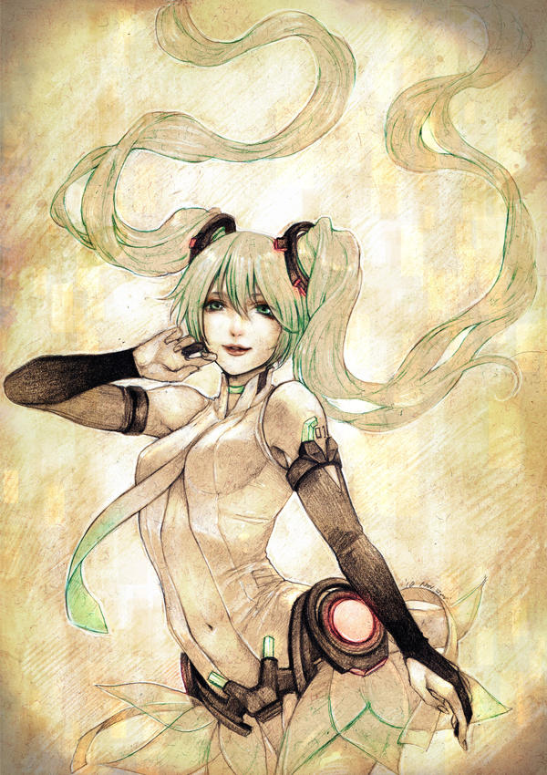 Miku append by jurithedreamer