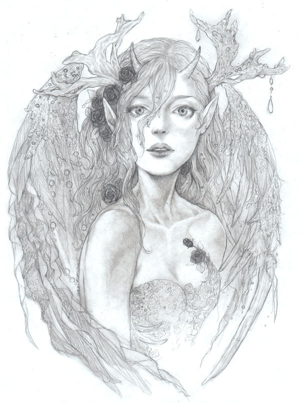Romantic -pencil- by jurithedreamer on DeviantArt
