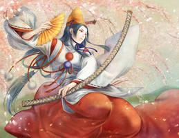 Shizuka Gosen by jurithedreamer