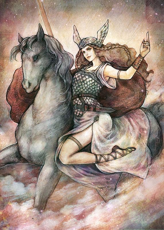 Brynhildr by jurithedreamer