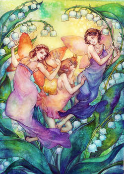 Lily of the Valley fairies