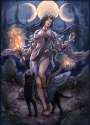 Hecate by jurithedreamer
