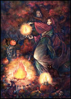 Samhain by jurithedreamer