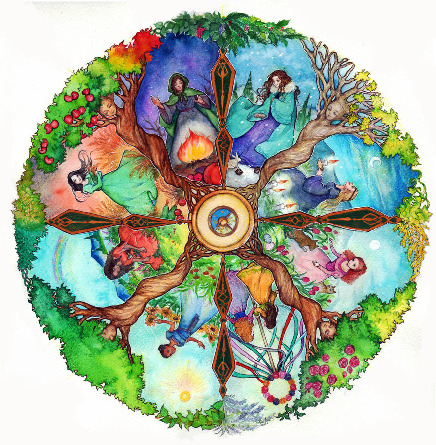 the Wheel of year