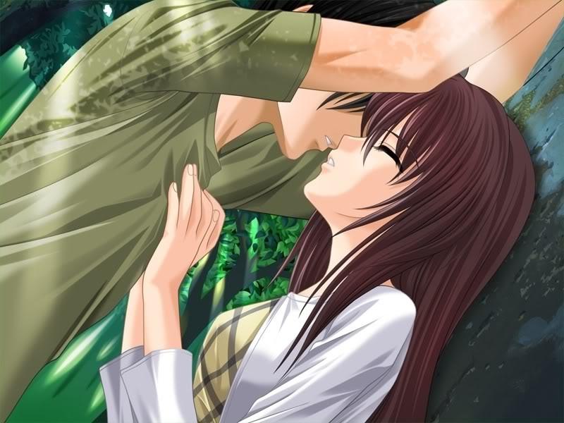 anime couple hugging wallpapers - photo #36
