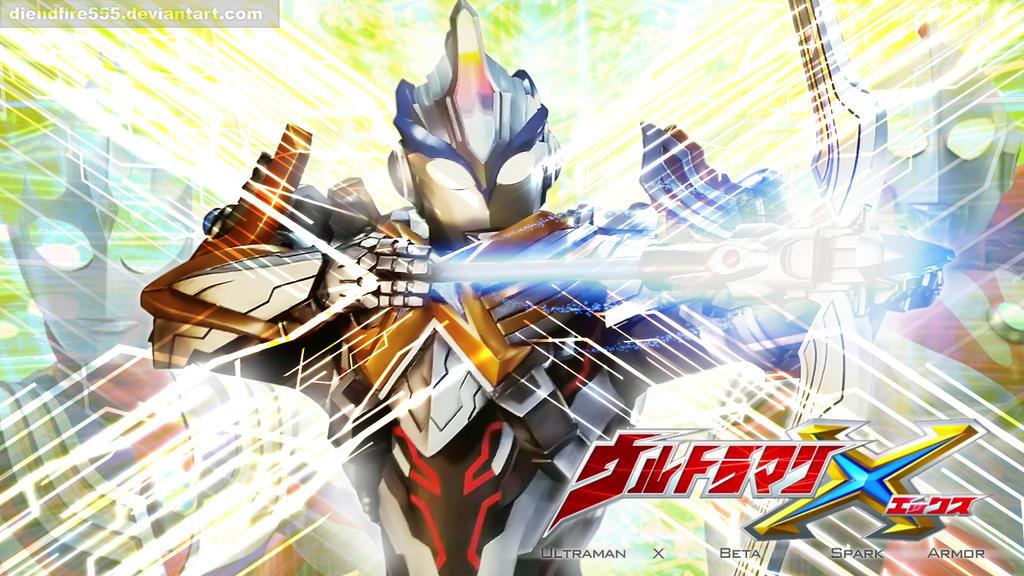 Ultraman X Beta Spark Armour By Diendfire555 On Deviantart