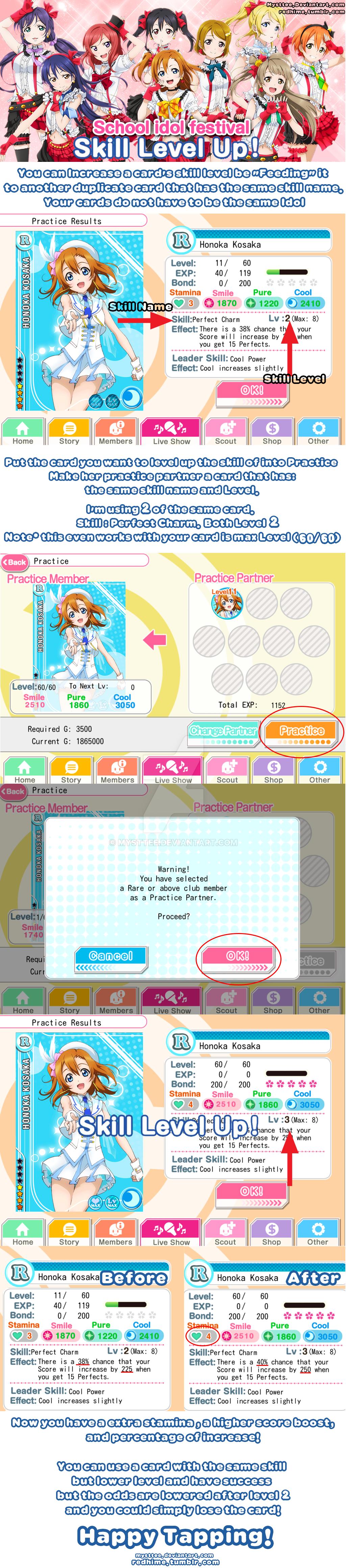 how to get school idol skills