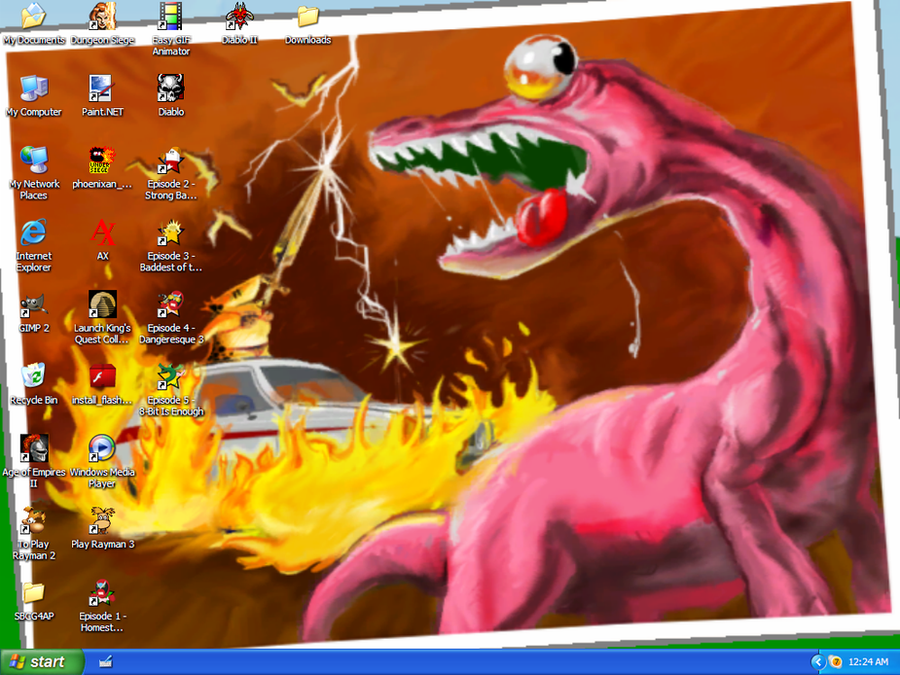 Epic Screenshot by HyperactiveMothMan
