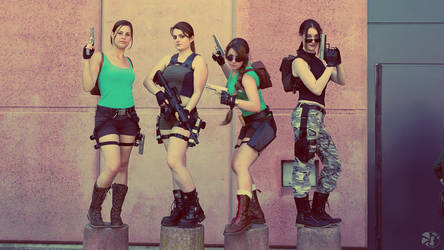 Lara Croft Angel of Darkness cosplay by TifaMacky-RE