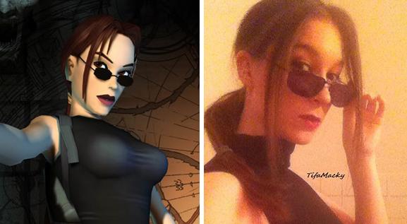 Lara comparison by TifaMacky-RE