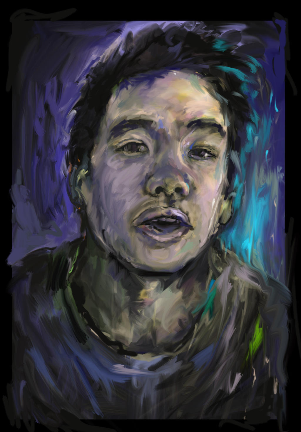 Portrait by wongas