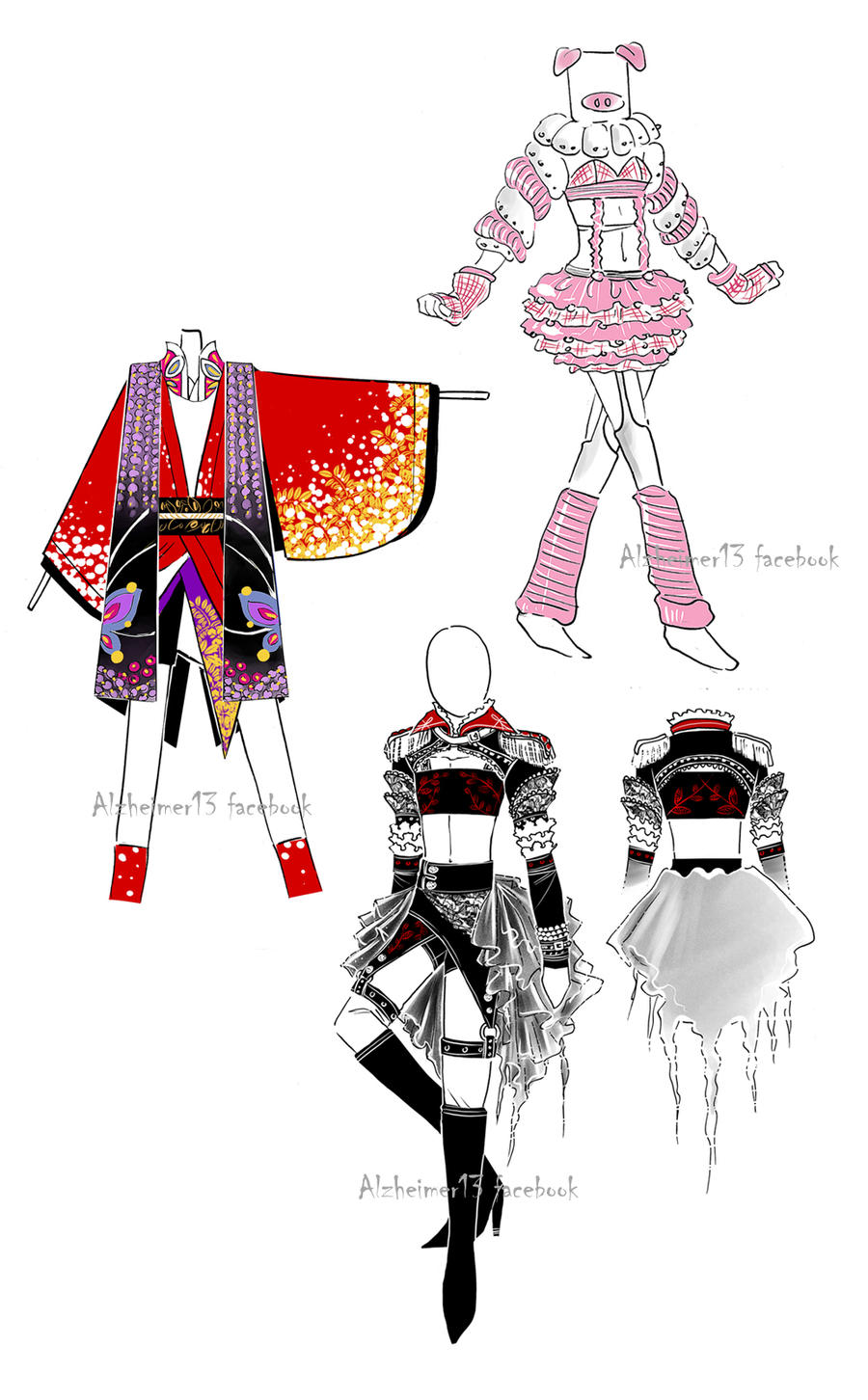 Accepted designs - homework by Alzheimer13