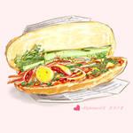 YELLOW - Vietnamese sandwich