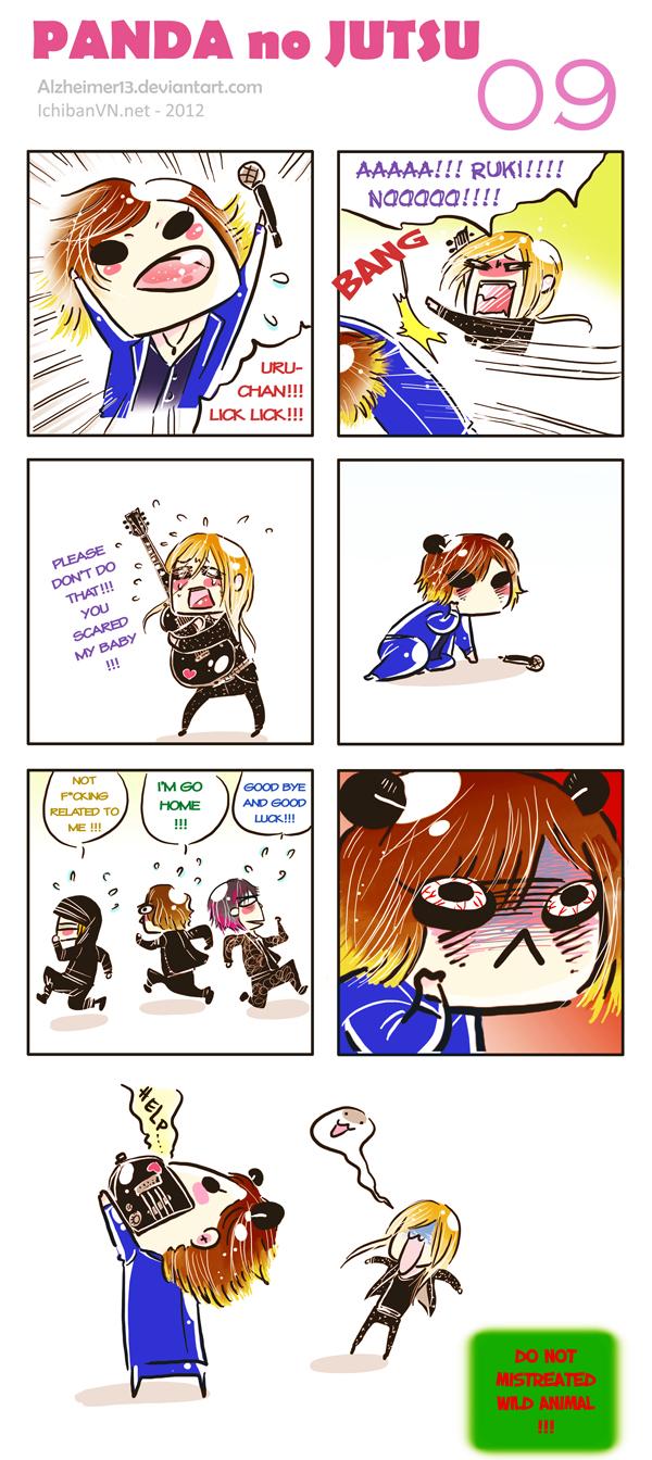 Panda no Jutsu 09 - Lick by Alzheimer13