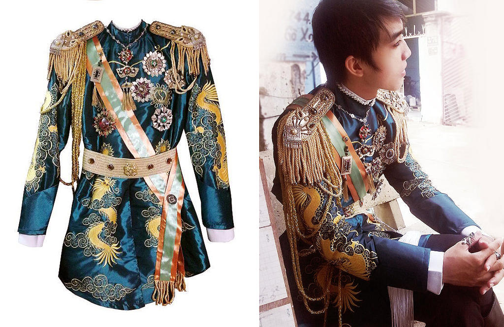 Khai Dinh king cosplay costume by Alzheimer13