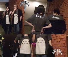 TOTORO tshirt by Alzheimer13