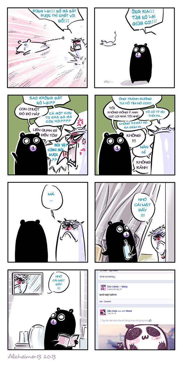 Short comic 172 - That Snowmouse by Alzheimer13