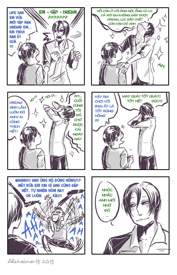 Short comic 178 - When you meet your dream by Alzheimer13