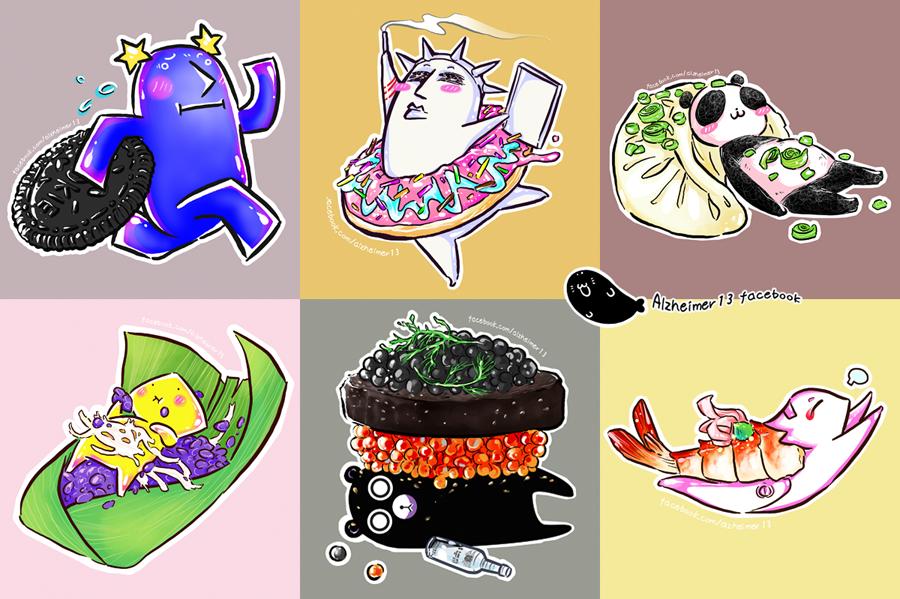 Short comic - Cuisine by Alzheimer13