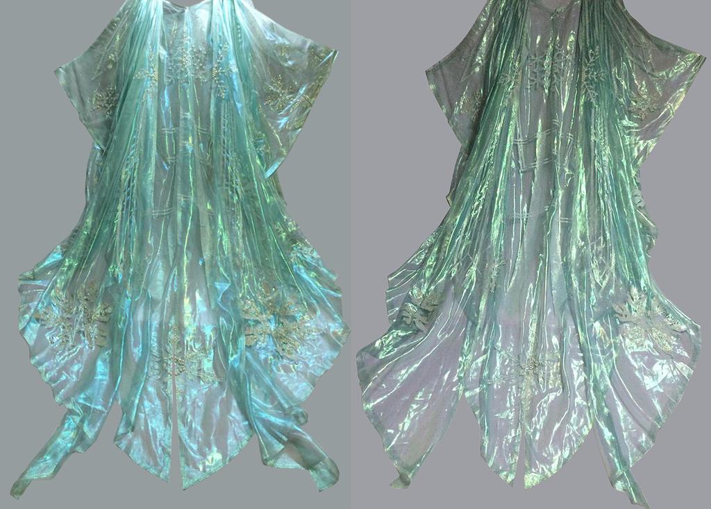 Elsa / Ice King cape - handmade by Alzheimer13