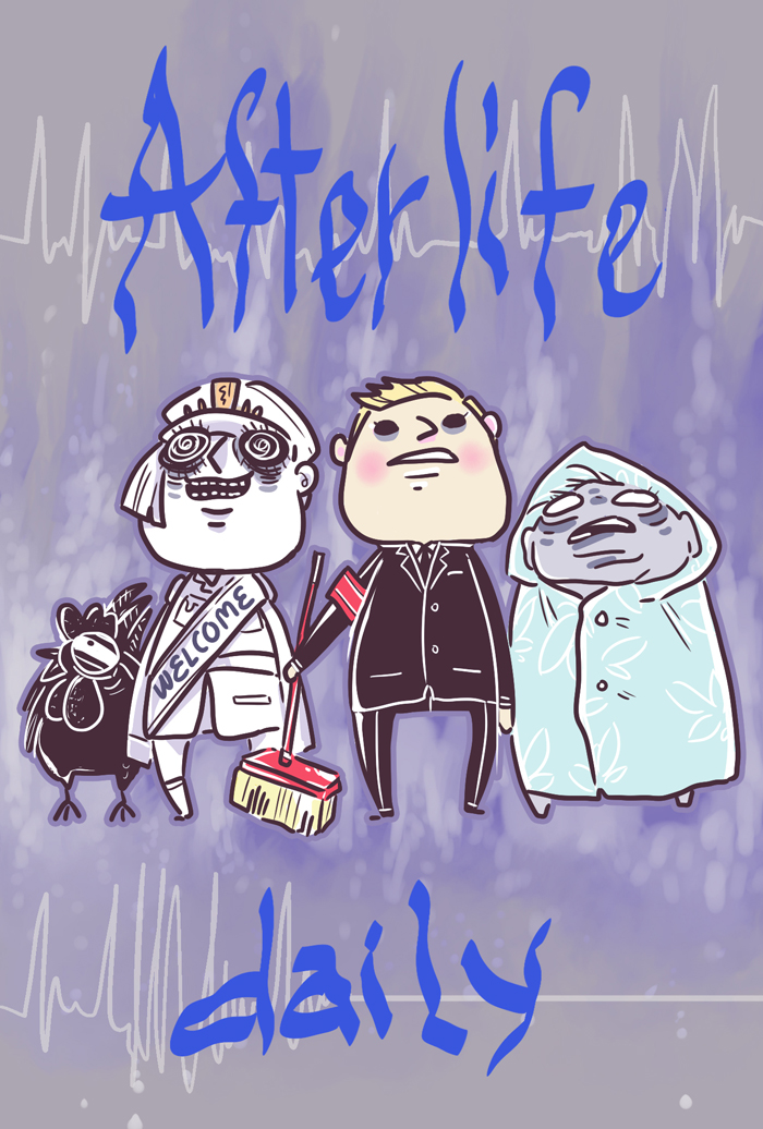 Afterlife daily cover 1 by Alzheimer13