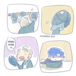 BTS Namgi - He fits he sits by Alzheimer13