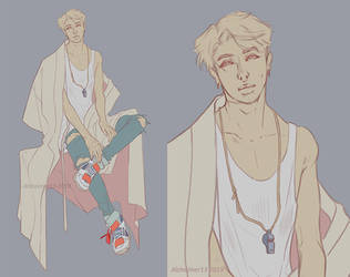 BTS RM - PERSONA wip by Alzheimer13
