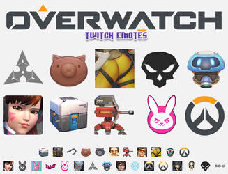 Overwatch Emotes by Th3Sixth